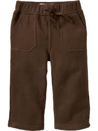 Pantalons molletonnés pour bébé