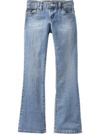 Girls Vintage Boot-Cut Jeans