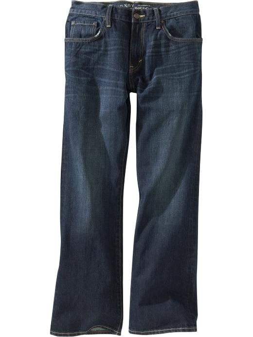 Old Navy Men's Boot-Cut Jeans - Dark authentic 10 - Old Navy Canada