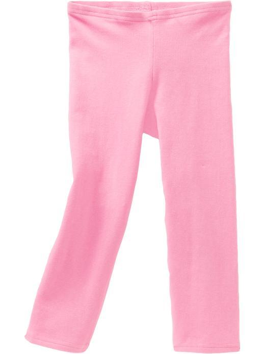 Old Navy Girls Cropped Leggings - Sync pink