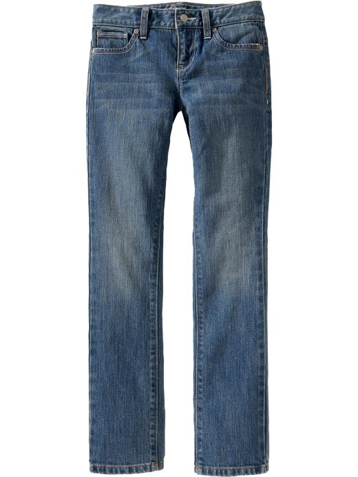 Old Navy Girls Distressed Skinny Jeans - Iris