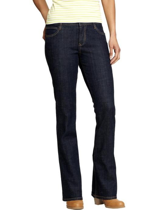 Old Navy Women's The Dreamer Boot Cut Jeans - Rinse b - Old Navy Canada