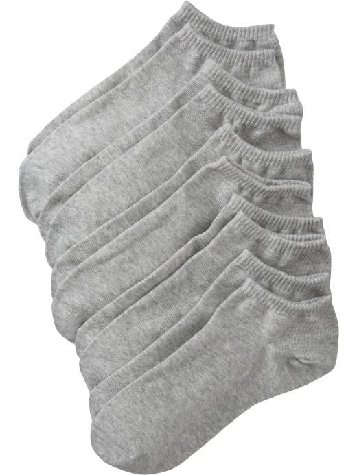 Old Navy Women's Liner-Sock 5-Packs - Heather gray