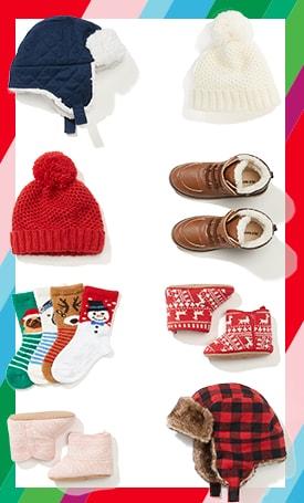 Magasiner les cadeaux pour le bas de Noël pour bébé