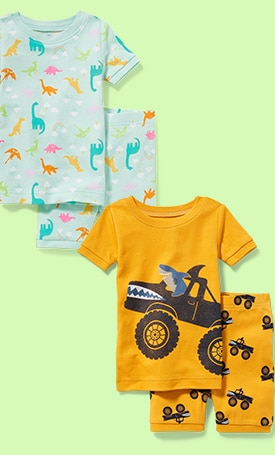 Shop toddler sleepwear.