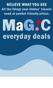 Everyday magic deals