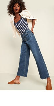 Women S Capri Jeans Old Navy