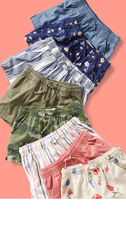 Shorts from $7