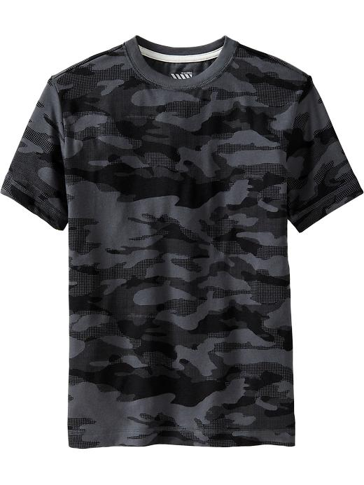 Old Navy Boys Classic Tees - Black camo