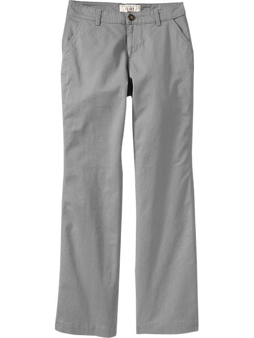 Old Navy Women's The Flirt Perfect Khakis - Gray stone - Old Navy Canada