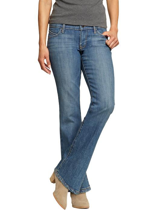 Old Navy Women's The Diva Boot Cut Jeans - Talc - Old Navy Canada