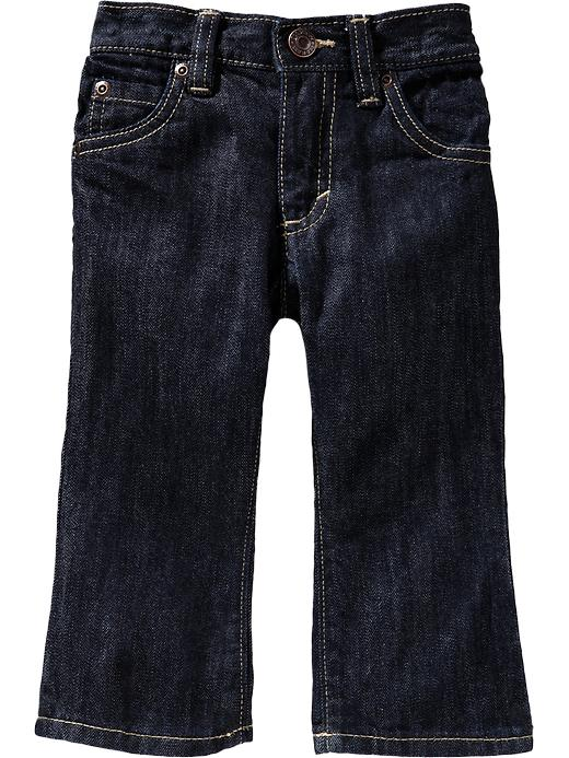 Old Navy Dark Wash Bootcut Jeans For Baby