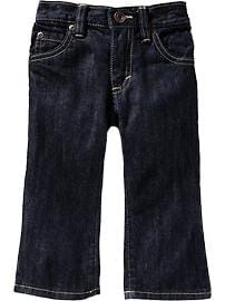 Dark-Wash Bootcut Jeans for Toddler Boys