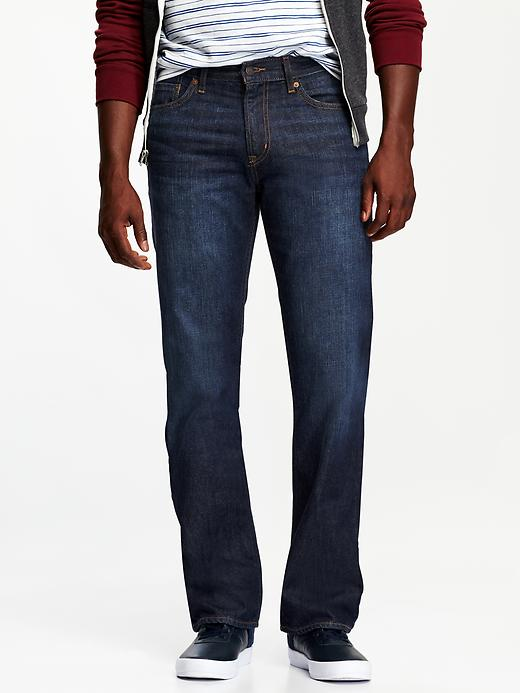 Old Navy Men's Boot Cut Jeans - Dark wash - Old Navy Canada