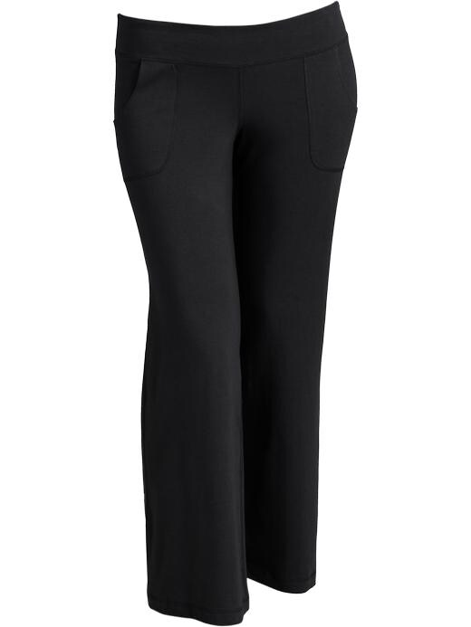 d14565b495a7e Old Navy Women s Plus Wide Leg Yoga Pants - Black jack