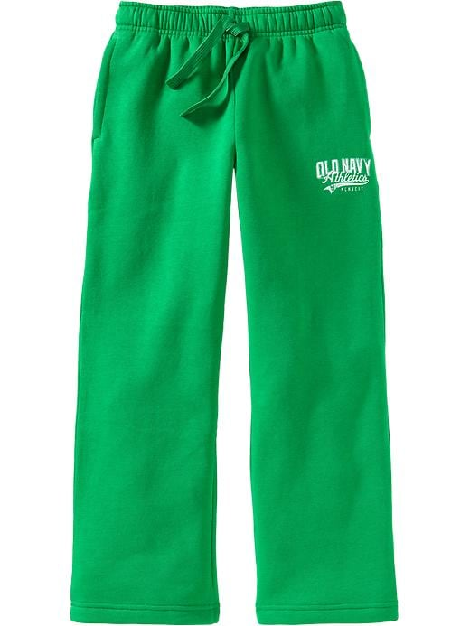 Old Navy Boys Logo Fleece Pants