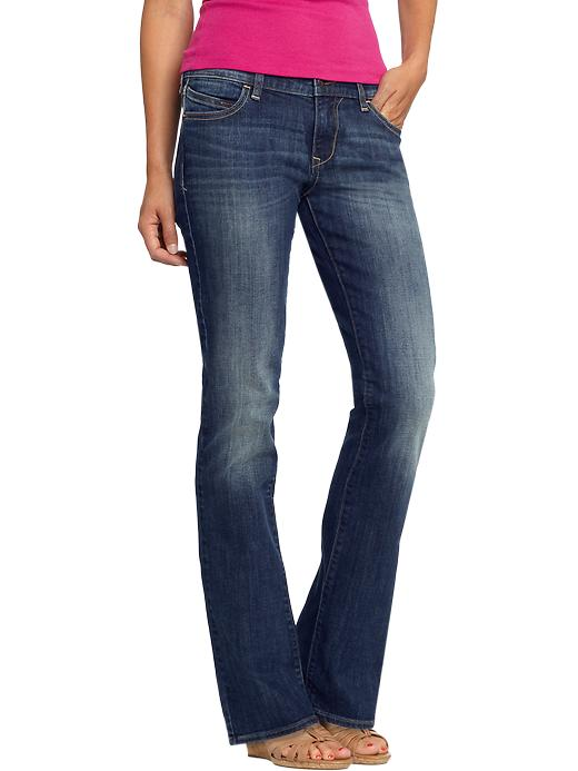 Old Navy Women's The Diva Boot Cut Jeans - Camp fire - Old Navy Canada