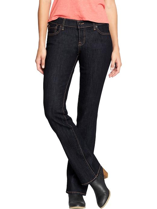 Old Navy Women's The Flirt Boot Cut Jeans - Rinse - Old Navy Canada