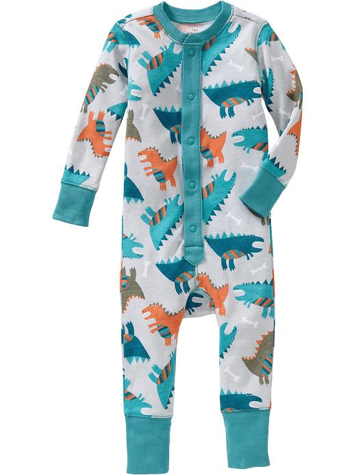 Old Navy Printed One Piece Sleepers For Baby