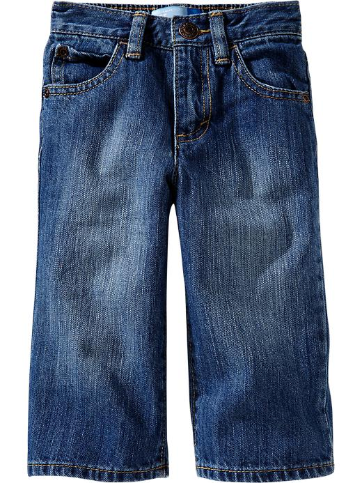 Old Navy Loose Fit Jeans For Baby - Light wash - Old Navy Canada
