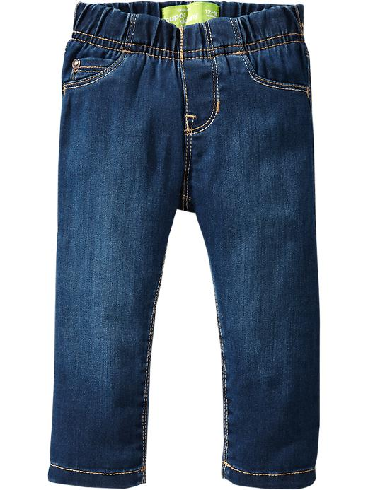 Old Navy Pull On Jeggings For Baby - Dark wash - Old Navy Canada