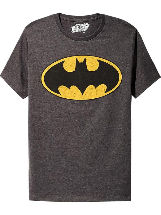Old Navy Men's Dc Comics Superhero Tees - Batman shield - Old Navy Canada