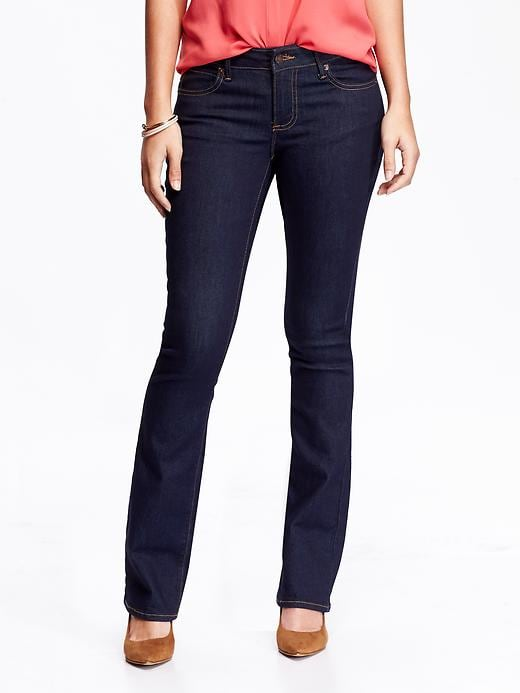 Old Navy Women's The Rock Star Demi Boot Jeans - Rinse - Old Navy Canada