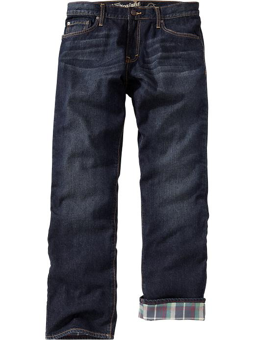 Old Navy Men's Flannel Lined Jeans | Quality Fashion