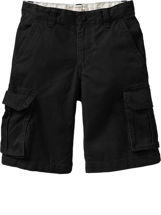 Old Navy Boys Authentic Cargo Shorts - Blackjack jas