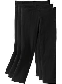 Paquet de 3 leggings-capris pour fille