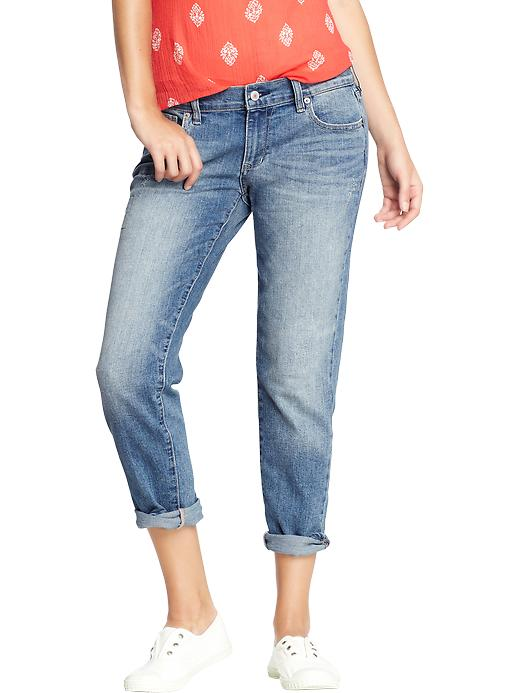 Old Navy Women's Skinny Boyfriend Jeans - Loved and worn - Old Navy Canada