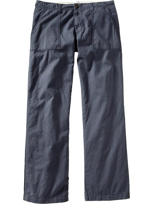 Old Navy Men's Linen Blend Pants - Dusty blue