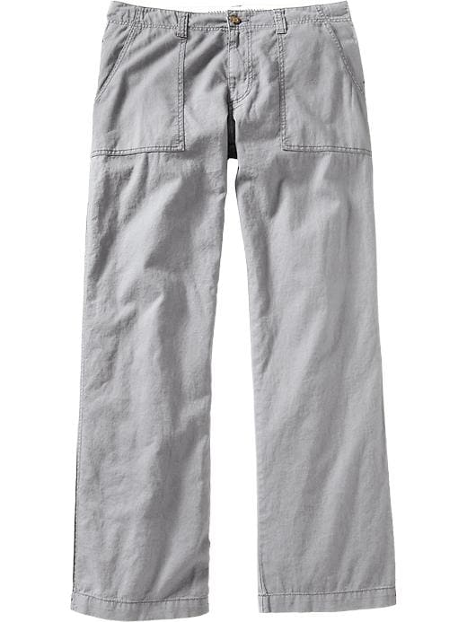 Old Navy Men's Linen Blend Pants - Grayscale