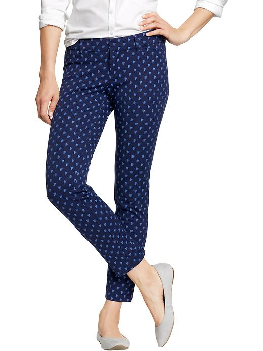Old Navy Women's The Diva Skinny Ankle Pants - Goodnight nora print - Old Navy Canada