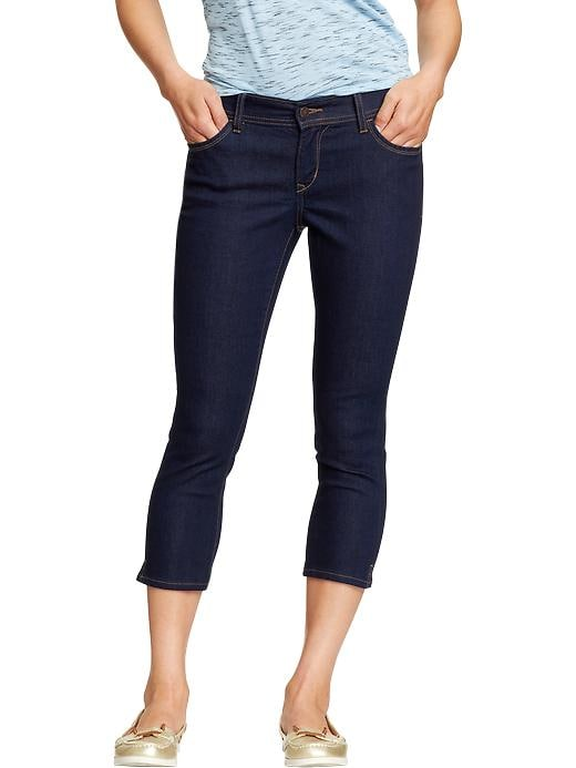 "Old Navy Women's The Flirt Skinny Denim Capris (22"") - Rinse"
