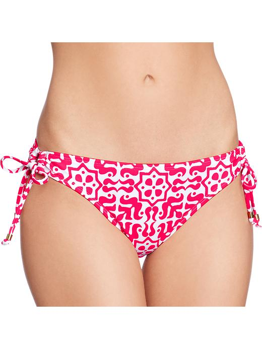 Old Navy Women's Printed Butterfly Bandeau Bikinis - Pink - Old Navy Canada