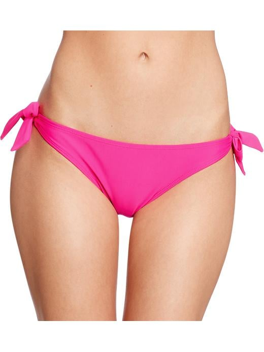 Old Navy Women's Knotted Tie Bikinis - Flaming flamingo bttm - Old Navy Canada