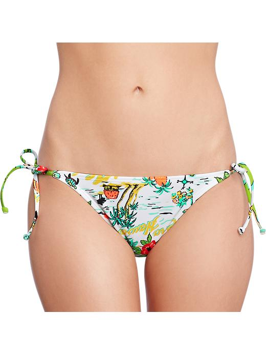 Old Navy Women's Map Print String Bikinis - Blue hawaii bottom - Old Navy Canada