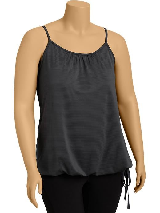 Women's Plus Active By Old Navy Bubble Tanks - Carbon - Old Navy Canada