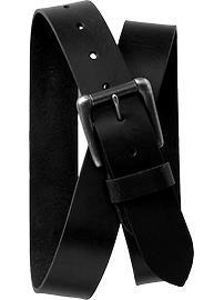 Men's Faux-Leather Belts