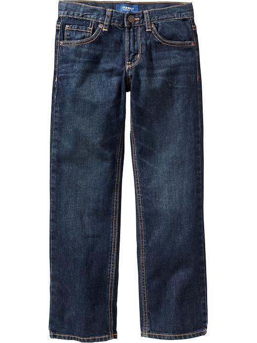 Old Navy Boys Straight Leg Jeans - Astro