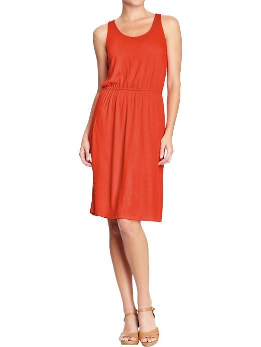 Old Navy Women's Sleeveless Jersey Dresses - Birds of paradise