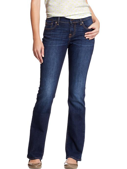 Old Navy Women's The Sweetheart Boot Cut Jeans - Crater lake - Old Navy Canada