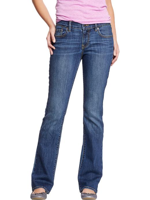 Old Navy Women's The Sweetheart Boot Cut Jeans - Blue reeds - Old Navy Canada