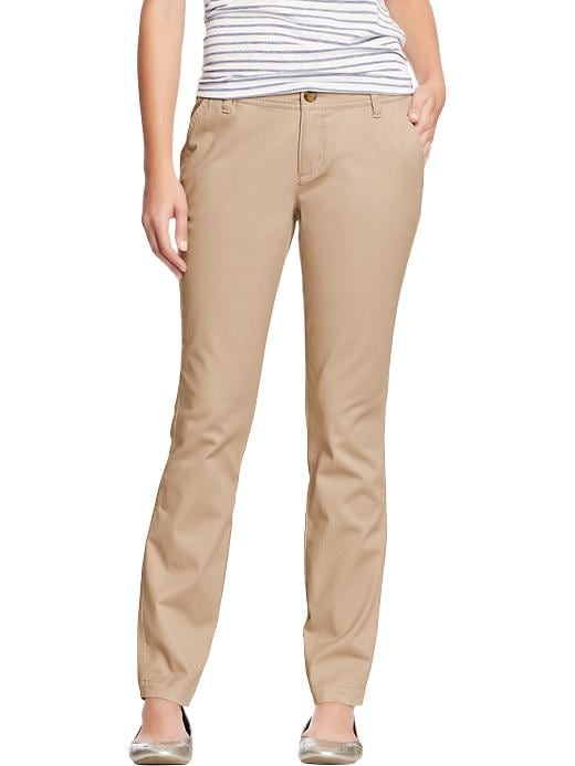Old Navy Women's The Diva Skinny Khakis - Rolled oats