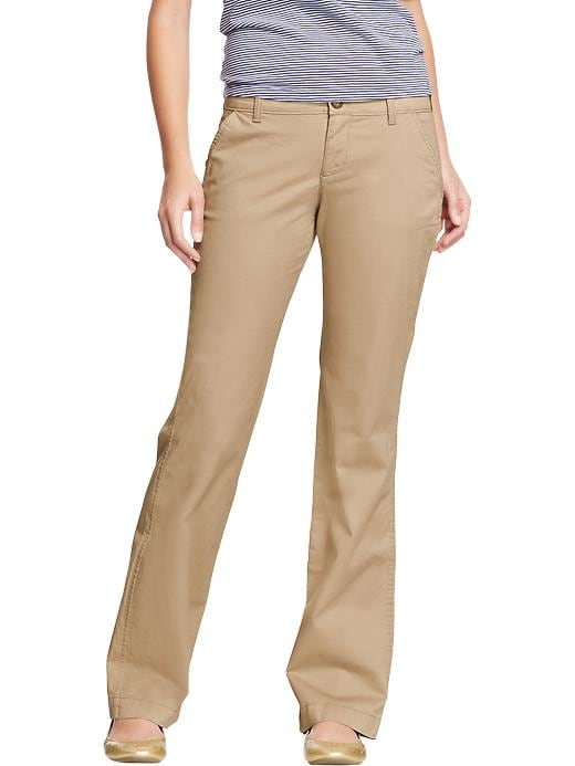 Old Navy Women's The Flirt Perfect Khakis - Rolled oats - Old Navy Canada