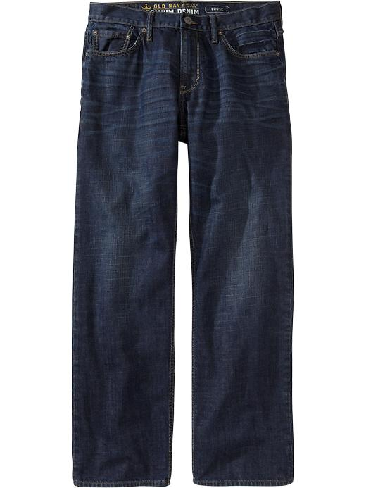 Old Navy Men's Premium Loose Fit Jeans - Crosshatch - Old Navy Canada