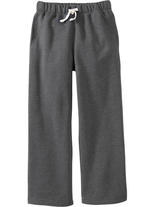 Old Navy Boys Fleece Sweatpants - Drkhthrg