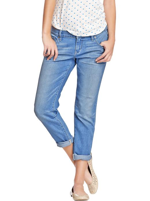 Old Navy Women's Cropped Skinny Boyfriend Jeans - Glacier - Old Navy Canada