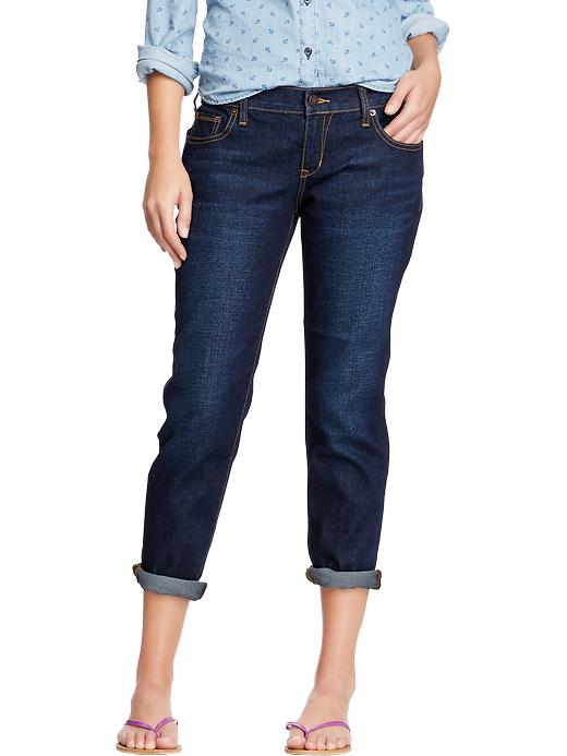 Old Navy Women's Cropped Skinny Boyfriend Jeans - Milkway - Old Navy Canada